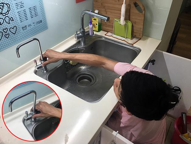 廚下型飲水機安裝-普德淨水BD-3006B-13