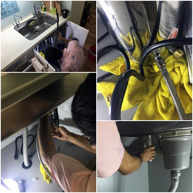 廚下型飲水機安裝-普德淨水BD-3006B-16